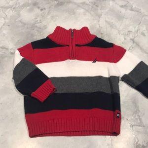 nautica sweater 6-12 months